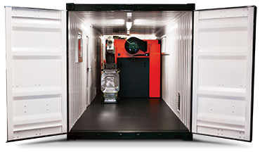 Heizomat Boilers Container