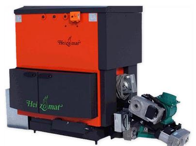 Heizomat woodchip boiler