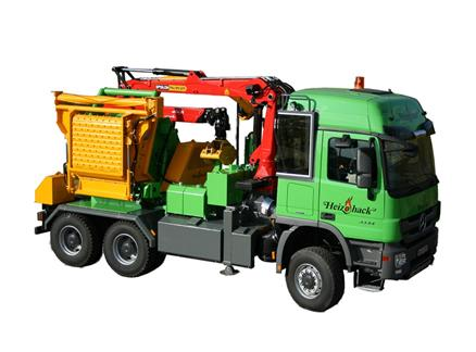Truck Mounted chipper