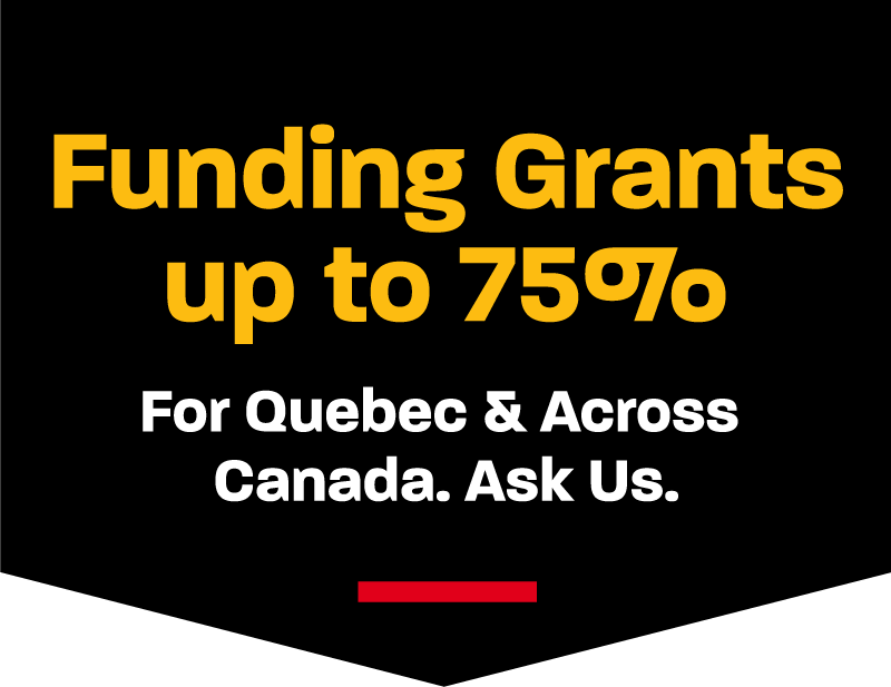 Funding Grants up to 75%